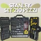 Stanley: il set attrezzi da 210 pezzi a prezzo WOW