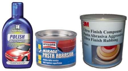 Meglio pasta abrasiva o polish