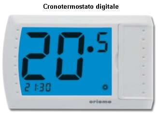 cronotermostato digitale