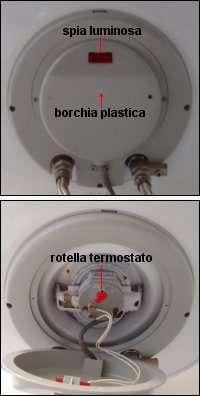Regolazione della temperatura di uno scaldabagno elettrico - Come funziona lo scaldabagno elettrico ...