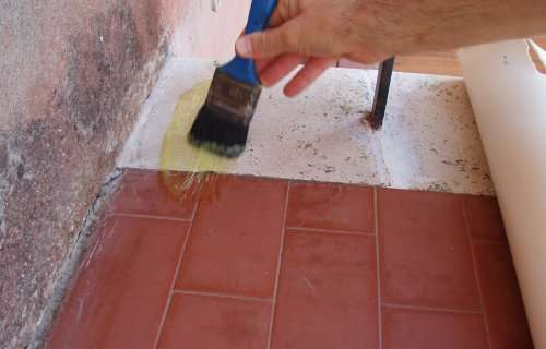 Rivestimento del pavimento con linoleum - Pavimenti in pvc ikea ...
