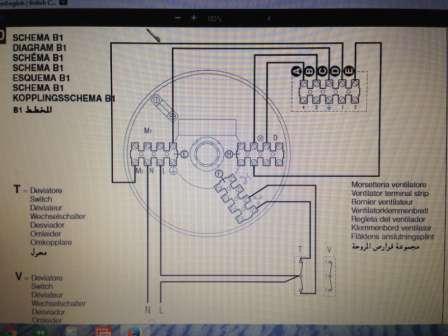 Schema Elettrico : Ventilatore da soffitto schema elettrico u solo altre idee di