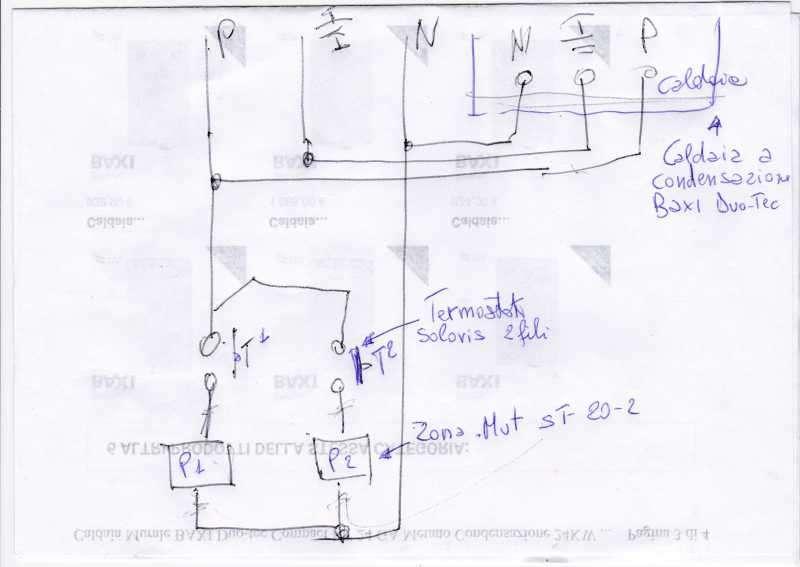 Schema Elettrico Elettrovalvola Per Riscaldamento : Aggiustatutto fai da te bricolage collegare